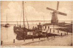 de haven van Sint Philipsland